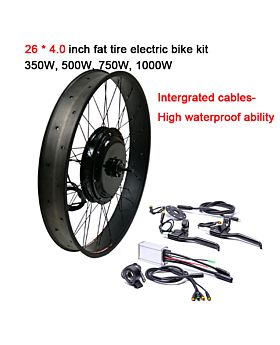 Waterproof Fat Tire Electric Bike Conversion Kit