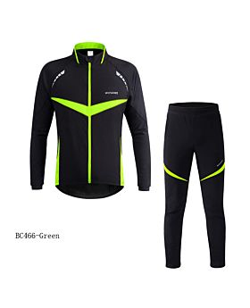 WOSAWE Winter Windproof Waterproof Cycling Jacket