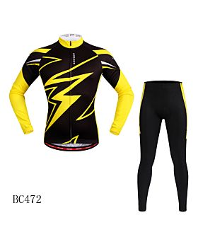 Cycling Suit Women And Men Long Sleeves MTB Jersey And MTB Trousers