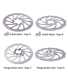 160mm Stainless Steel Bike Disc Brake Rotor