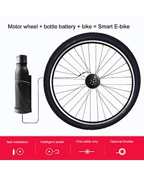 One cable Electric Bike Conversion Kit EEKit With Battery
