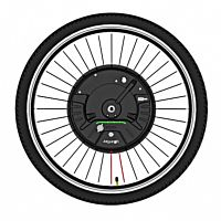 yunzhilun imortor 26 inch smart electric front bicycle wheel