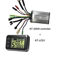 KT 36V 48V 250W  controller with KT-LCD3 ebike display