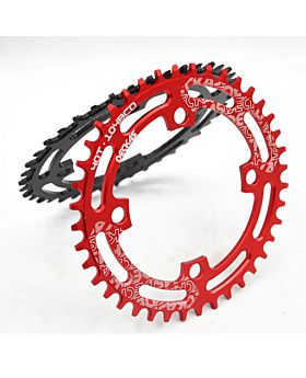 Mountain Bicycle Chainwheel MTB Bike Crankset Aluminum 104BCD Round Plate 40T/42T/44T/46T/48T/50T/52T