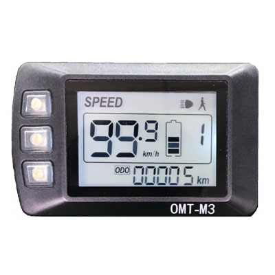 electric bike parts-OMT-M3 LCD display
