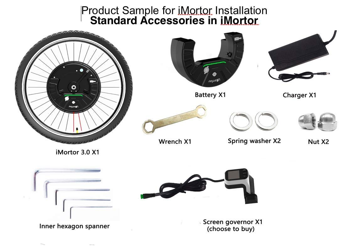 imortor 3.0 all in one electric bike conversion kit 2019 newest electric bike kit